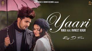 Yaari Lyrics in Hindi