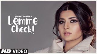 Lemme Check Lyrics In Hindi