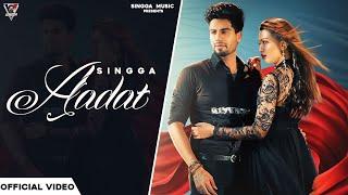 Aadat Lyrics In Hindi