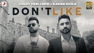 Don't Like Lyrics In Hindi