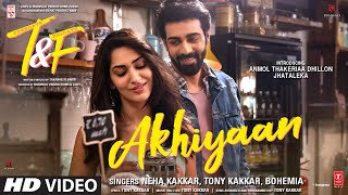 Akhiyaan Lyrics In Hindi