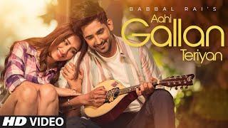 Aahi Gallan Teriyan Lyrics In Hindi
