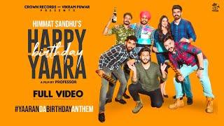 Happy Birthday Yaara Lyrics In Hindi