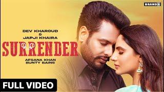 Surrender Lyrics In Hindi