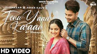 Tenu Yaad Karaan Lyrics In Hindi