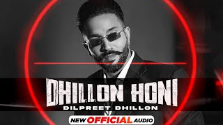 Dhillon Honi Lyrics In Hindi