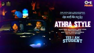 Athra Style Lyrics In Hindi