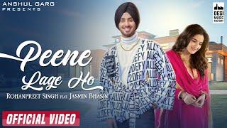 Peene Lage Ho Lyrics In Hindi